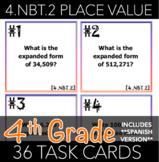 4.NBT.2 Place Value Task Cards