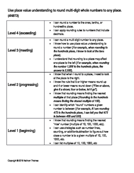 4NBT3 (4.NBT.A.3) Learning Progression