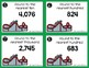4NBT3 Round Whole Numbers to Any Place *QR* MATH TASK CARDS