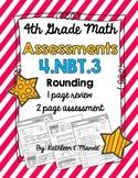 4.NBT.3 Assessment: Rounding