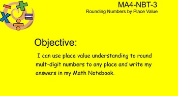 4NBT3 Rounding Numbers Word Problems
