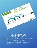 4.NBT.4 Do It! Use It! Teach It! Stations