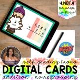 4NBT4 Multidigit Addition NO Regrouping Boom Cards™   Dist