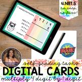 4NBT5 4 Digit by 1 Digit Multiplication Boom Cards™   Dist