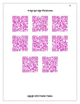 4.NBT.5 & 4.NBT.6 QR Codes