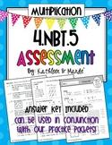 4.NBT.5 Assessment: Area Model, Lattice, Partial Products, Distributive