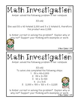 4.NBT.5 Multiplication