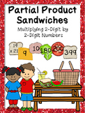 4.NBT.5 Sorting Partial Product Sandwiches