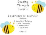 4.NBT.6 - 2-digit Dividend by 1-digit Divisor Division Task Cards