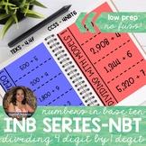 4NBT6 MultiDigit Division (Interactive Notebook Series)