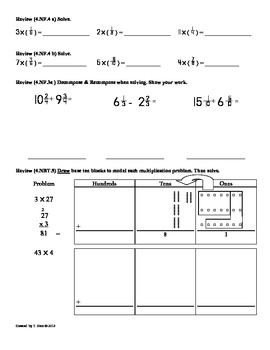 (4.NBT.6)Dividing Whole Numbers Part 3: 4th Grade Common Core Worksheets