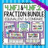 4.NF.1 & 4.NF.2 Bundle: Equivalent Fractions & Comparing F