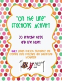 4.NF.1 & 4.NF.2 Fractions Number Line Activity