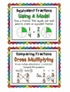 4.NF.1 & 4.NF.2 FREEBIE: Equivalent Fractions & Comparing Fractions Practice