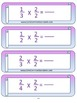 4.NF.1 Fourth Grade Common Core Worksheets, Activity, and Poster
