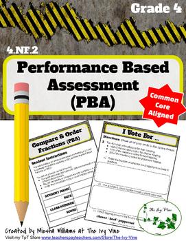 4.NF.2 Performance Task