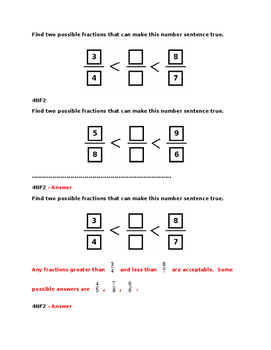 4NF2 Pre and Post Assessments