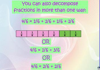 4.NF.3 Decomposing Fractions