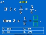 4.NF.4 4th Grade Common Core Math - Understand and Multiply Fractions