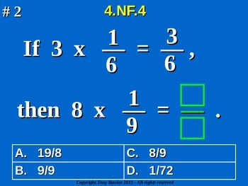 4.NF.4 4th Grade Common Core Math - Understand and Multipl