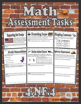 4.NF.4 Math Assessment Tasks