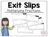4.NF.4 Fraction Exit Slips