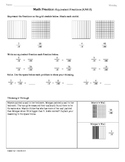 (4.NF.5) Fractions:4th Grade Common Core Math Worksheets