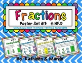 4.NF.5 Poster Set: Equivalent Fractions {Tenths & Hundredths}