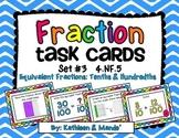 4.NF.5 Task Cards: Equivalent Fractions {Tenths & Hundredths}