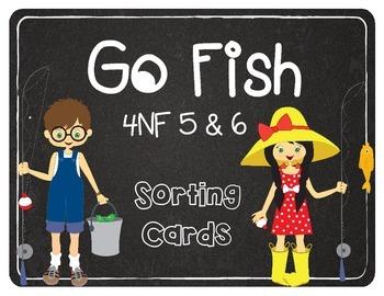 4NF5&6 GO FISH Common Core Decimals