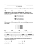 4.NF.6 Assessment