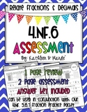4.NF.6 Assessment: Relating Fractions & Decimals