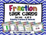 4.NF.6 Task Cards: Relating Fractions & Decimals