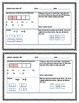 """4NFB Common Core Fractions 4th Grade (Fourth) """"Half Page Frenzies"""""""