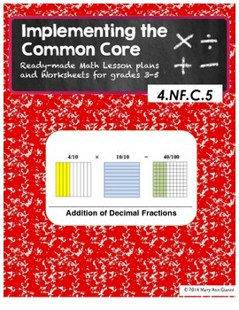 4.NF.C.5 Addition of Decimal Fractions