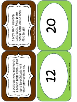 4.OA.1 Fourth Grade Common Core Worksheets, Activity, and Poster