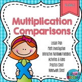 4.OA.1 Multiplication Comparisons