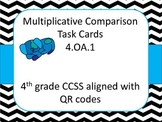 4.OA.1 QR Multiplicative Comparison Freebie