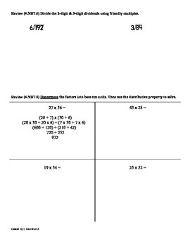 (4.OA.1)Interpret Multiplication Equations:4th Grade Common Core Math Worksheets