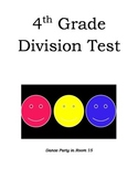 4.OA.2 & 4.NBT.6 4th Grade Division Test