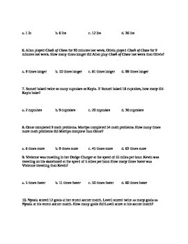 4.OA.2 Assessment