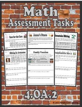 4.OA.2 Math Assessment Tasks