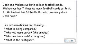 4.OA.2 SMART Board Lessons [75 Slides, ~1 week of instruction]