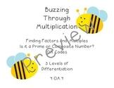 4.OA.4 - Factors, Multiples, Prime, Composite QR Task Card
