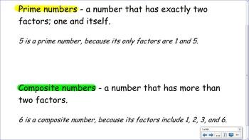 4.OA.4 SMART Board Lessons [80 Slides, ~1 week of instruction]