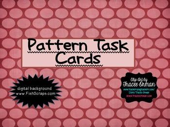 4.OA.5 Pattern Task Cards