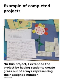 Math CCSS 4.OA.4 Review Project