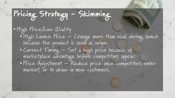 4Ps of Marketing - Price