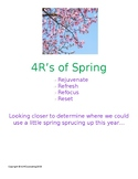 4R's of Spring: Personal Growth