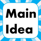 4R2: Main Idea in Non-Fiction Text GRAPHIC ORGANIZER HOUSE MODEL